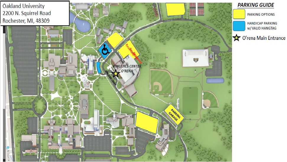 Oakland Community College Farmington Hills Campus Map.Location Maps