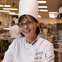 Chef Sue Baier