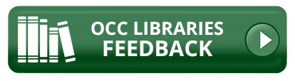 OCC Libraries Feedback