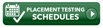 Placement Testing Schedule