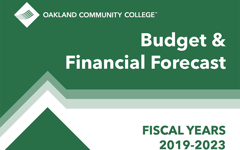 Cover of the 2019-2023 Budget and Financial Forecast