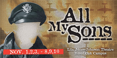 All My Sons Promotional banner.