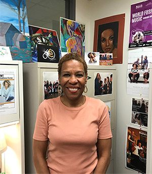 OCC Counselor Michelle May in her office.